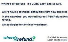 WHERES MY REFUND Site Down, What You Can Do | HULIQ