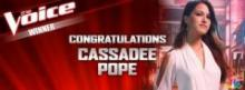 The Voice, Cassadee Pope
