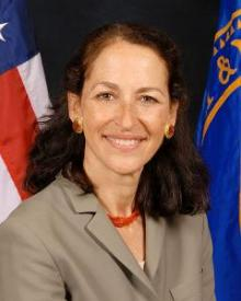 Commissioner of the Food and Drug Administration of the U.S. Margaret Hamburg.