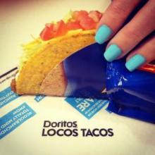 Cool Ranch Doritos Locos Taco from Taco Bell