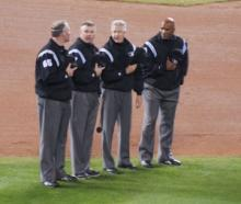 mlb umpires  2007 world series