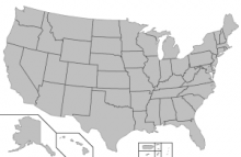 Map of U.S.