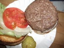 Homemade Hamburger and additives
