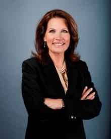 Flake Or Not?  Presidential candidate Michele Bachmann takes herself seriously.