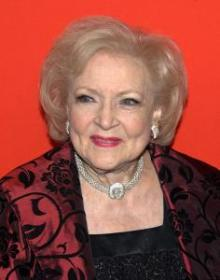 Betty White at the 2010 Time Gala