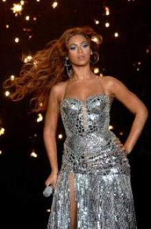 Beyonce Knowles in Milan, Italy, 2007