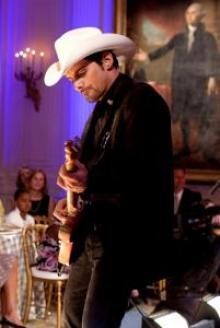 Brad Paisley performs at the White House in 2009.