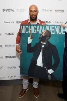 Common Michigan Avenue Magazine Cover Party at Pump Room in Chicago
