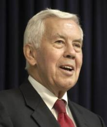 Sen. Richard Lugar is being opposed by the tea party in Indiana Primary.