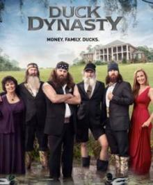 "The Robertson clan, stars of AETV's ""Duck Dynasty"""