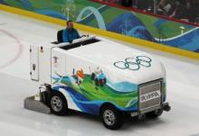 Electric ice resurfacer.