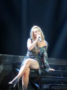 Haley Reinhart performs during American Idol Liver Tour 2011.