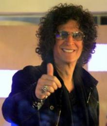 "Radio shock jock and ""America's Got Talent"" judge Howard Stern"