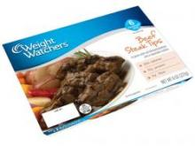 Weight Watchers fresh Beef Steak Tips meal