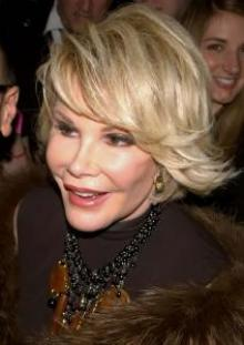 Comedienne Joan Rivers in 2010