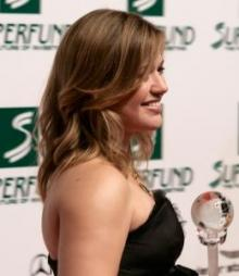 Kelly Clarkson at the Women's World Awards in 2009