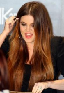 Khloe Kardashia at Chaos 2011