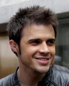 "Kris Allen in New York City before an appearance on ""The Today Show"" in 2009"