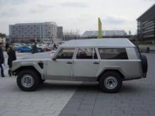 Sultan of Brunei's 1989 Lamborghini LM002  at 2008 German Retro Classics fair.