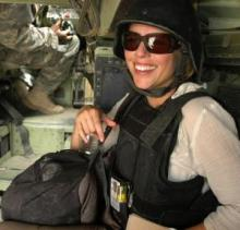 Lara Logan in Iraq
