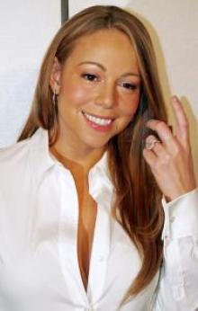 "Mariah Carey at the premiere of ""Tennessee"" at the 2008 Tribeca Film Festival"