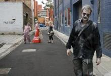 "Not part of the ""zombie apocalypse"": Zombies in Melbourne, Australia."