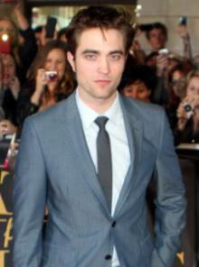 "Robert Pattinson at the 2011 premiere of ""Water For Elephants."""