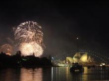 Sydney, Australia New Year's Eve celebration