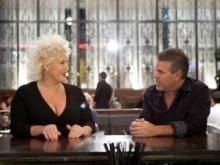 Anne Burrell and Richard Sandoval