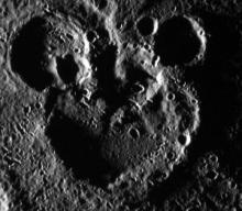 Robin Williams was wrong: Mercury, not Pluto, is a Mickey Mouse planet.