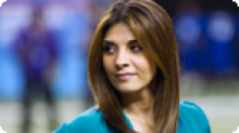 Callie Thorne, Necessary Roughness