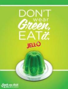 st. patrick&#039;s day green jello