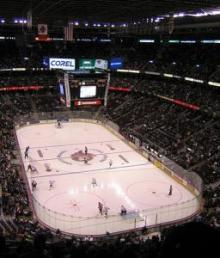 The Scotiabank Place was home to a marriage proposal Saturday.