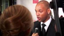 Will Smith&#039;s red carpet walk turned turbulent when a reporter got too frisky.