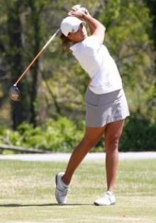 Cheyenne has big shoes to fill as she embarks on her pro golf career.