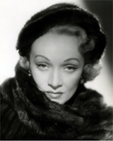 Dietrich started crooning in her exotic husky accented voice 90 years ago