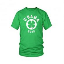 o'bama st. patrick's day re-election campaign tee