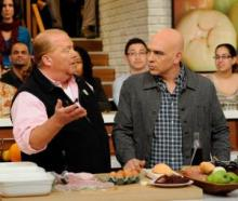 the chew mario and michael