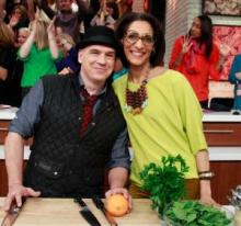 the chew michael and carla