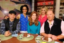 dana delany with the chew crew