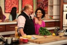 mario and carla on the chew