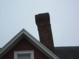 collapsing chimney