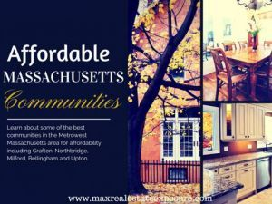 Affordable Real Estate in Communities West of Boston