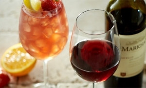 Carrabba's offers $10 off all bottles of wine.