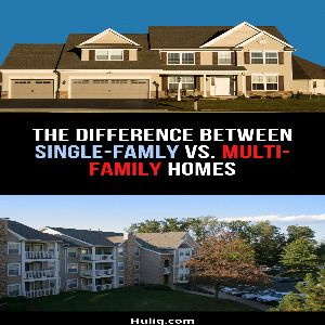 Difference Between Single and Multi Family Homes