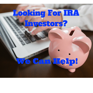 Local IRA Investors in Real Estate