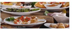 Olive Garden offers Taste of Italy for $4