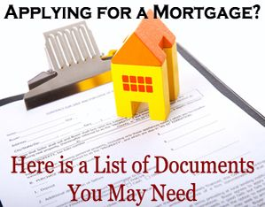 What Documents Do You Need When Applying for a Mortgage