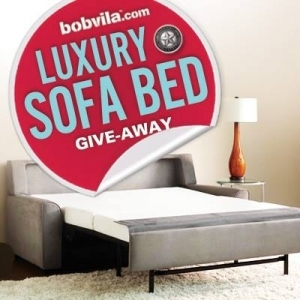Bob Vila Luxury Sofa Bed Give-Away