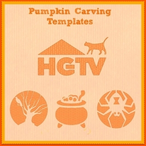 HGTV Pumpkin Carving Templates
